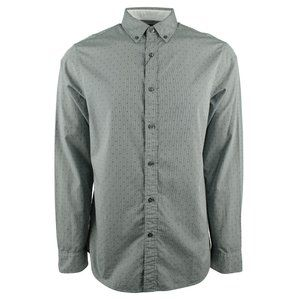 Michael Kors Mini Dot Long Sleeve Shirt, Green